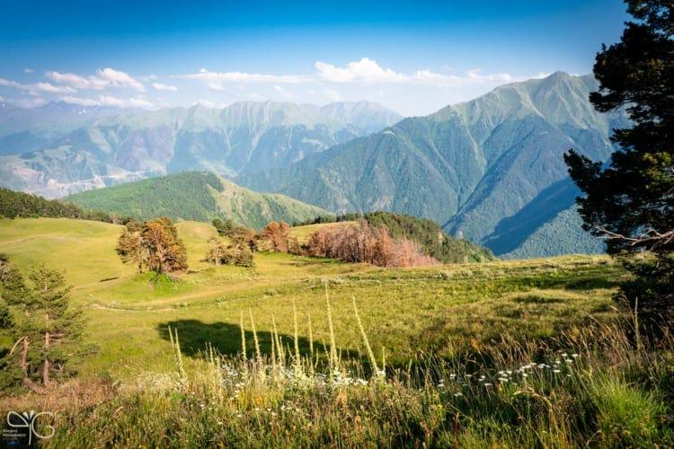 Высокогорная поляна в Дагестане