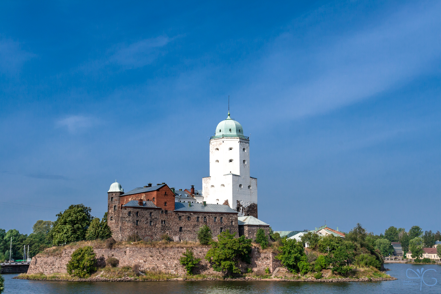 Vyborg castle, RAW