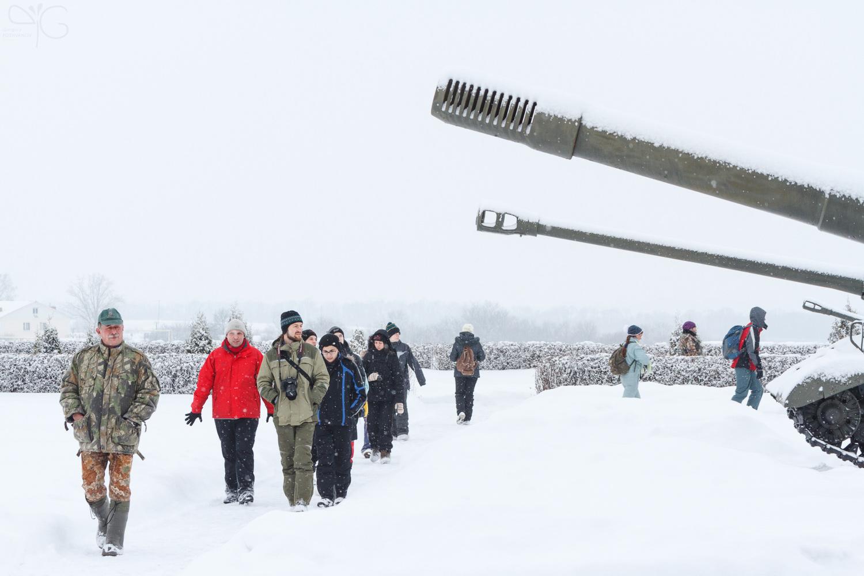 Стволы орудий, принимавших участие в сражении на Курской дуге
