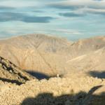 Вид на Касканюнчорр, Куэльпорр и Пик Марченко с перевала Южный Чорргор