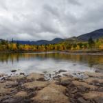 Берег обмелевшего Полигонального озера
