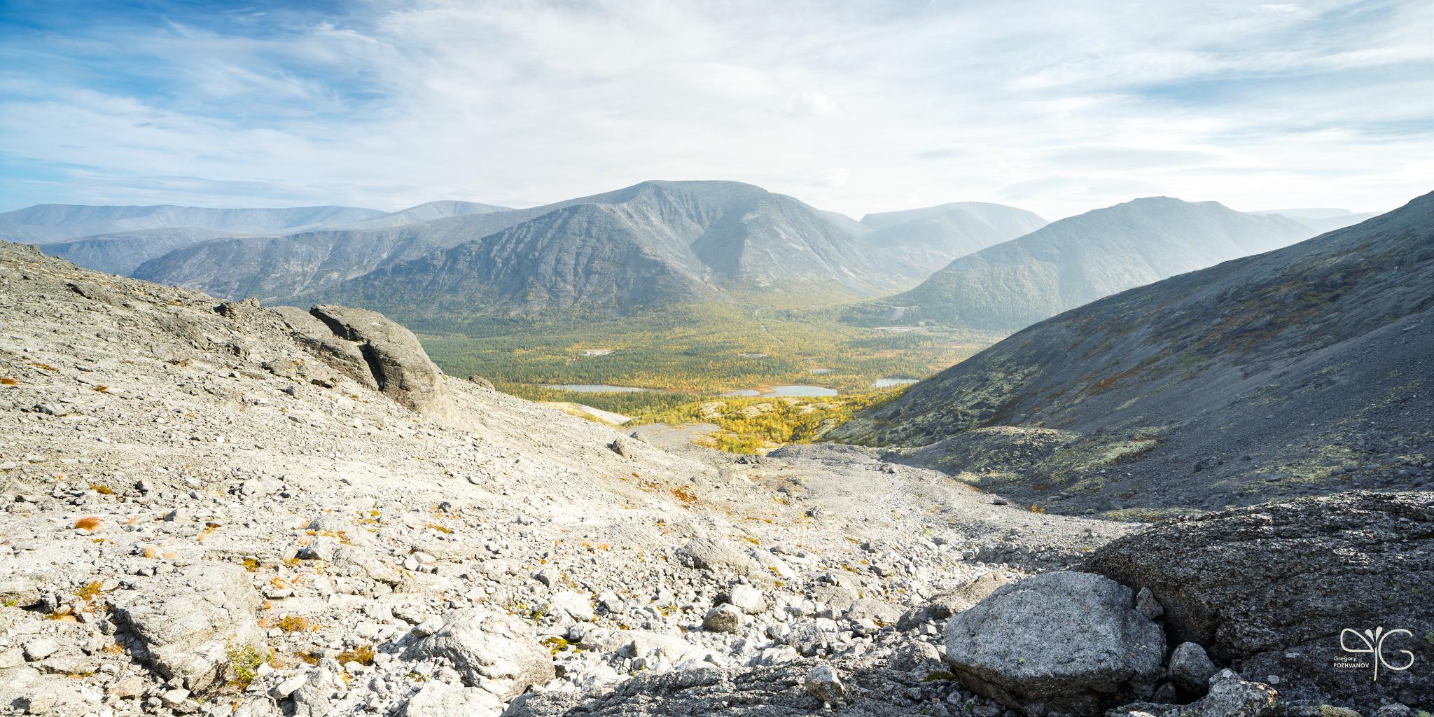 Вид на долину реки Кунийок