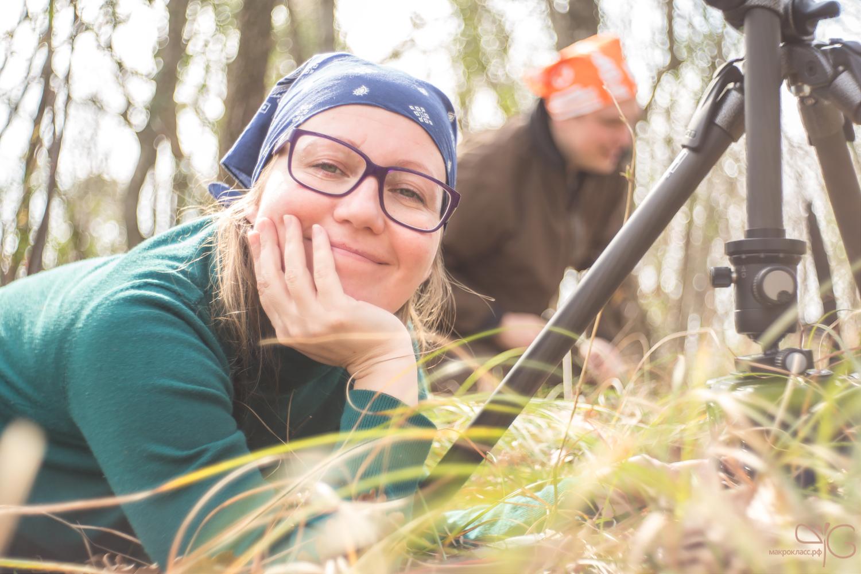 Юлия Втюрина фотографирует на Макроклассе