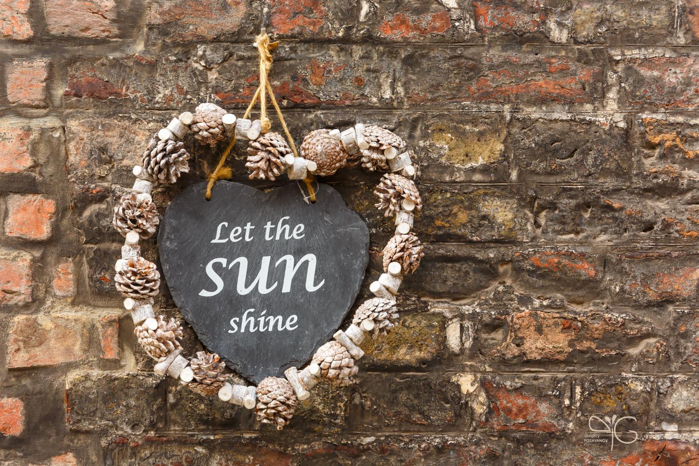 Пусть всегда будет солнце! | Let the sun shine