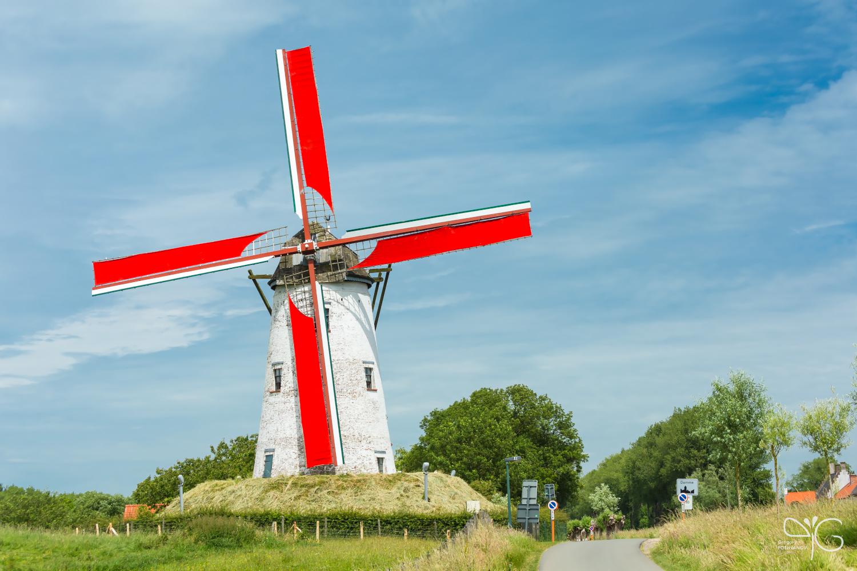 Ветряная мельница в Дамме | Windmill in Damme