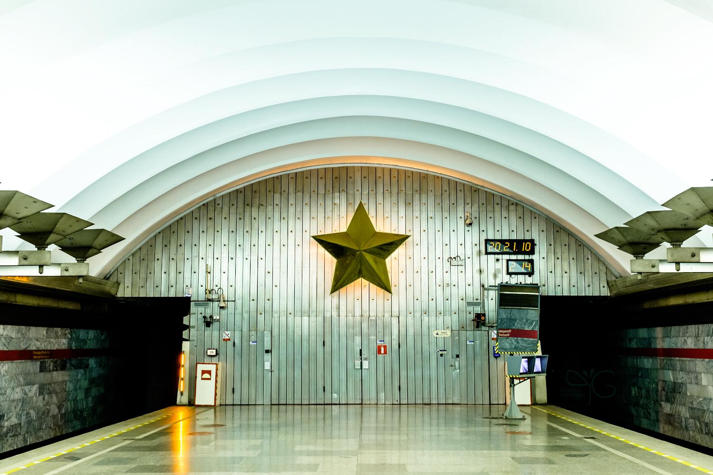 Станция метро Площадь Мужества