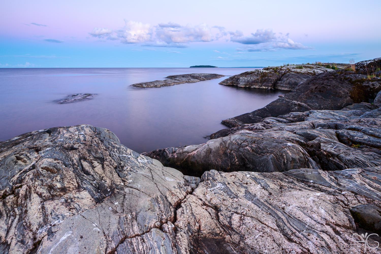 Закат над островами Пятякянсаарет