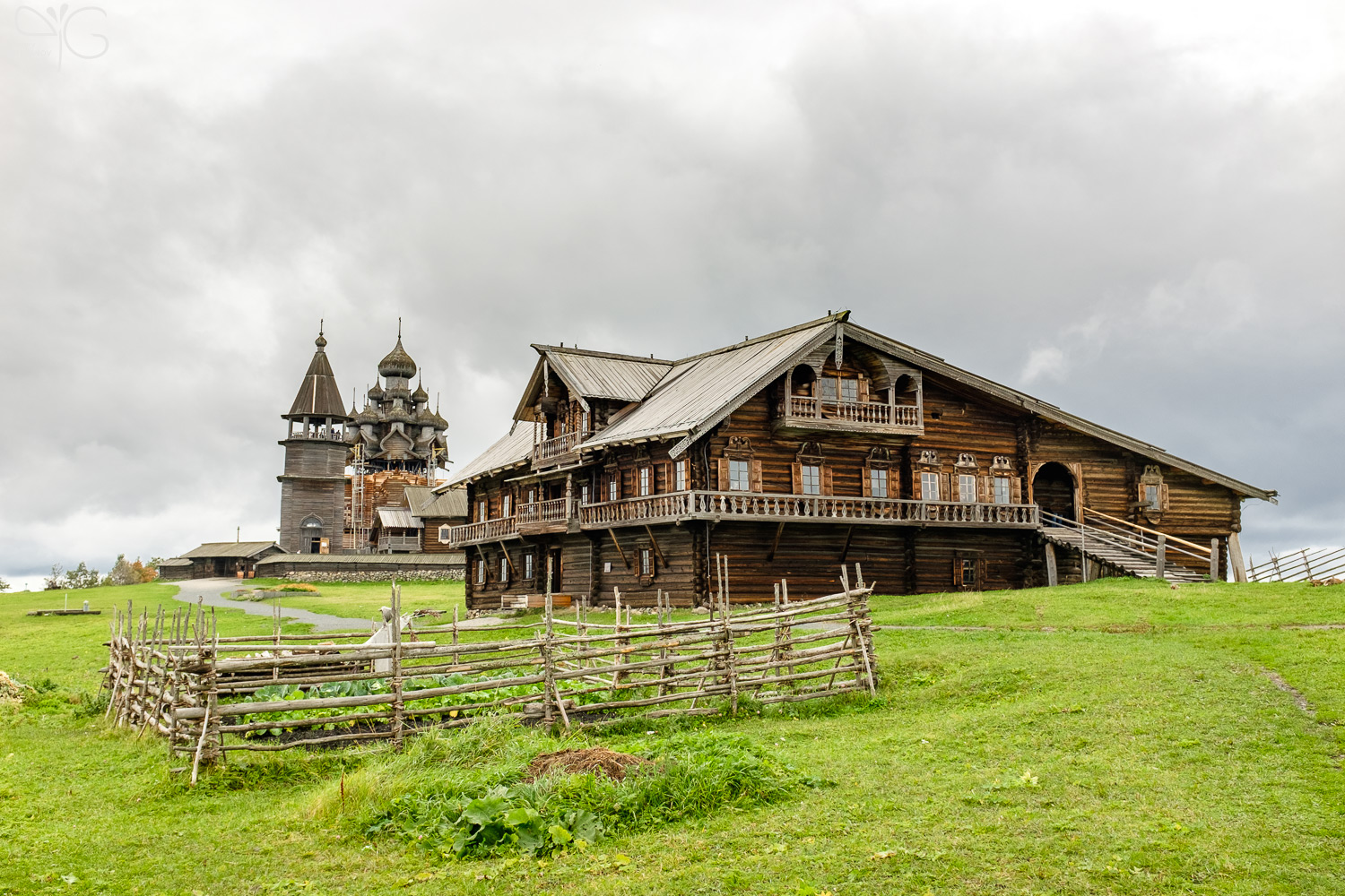 Kizhi: the hide for Russian soul