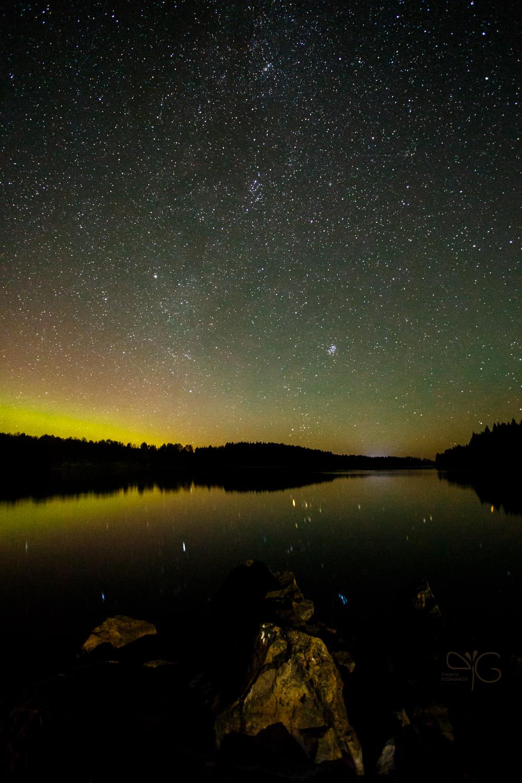 Звёздное небо над Ладогой