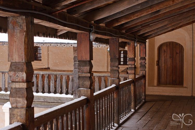 Галерея на втором этаже музея икон и книг, Спасо-Ефимиев монастырь