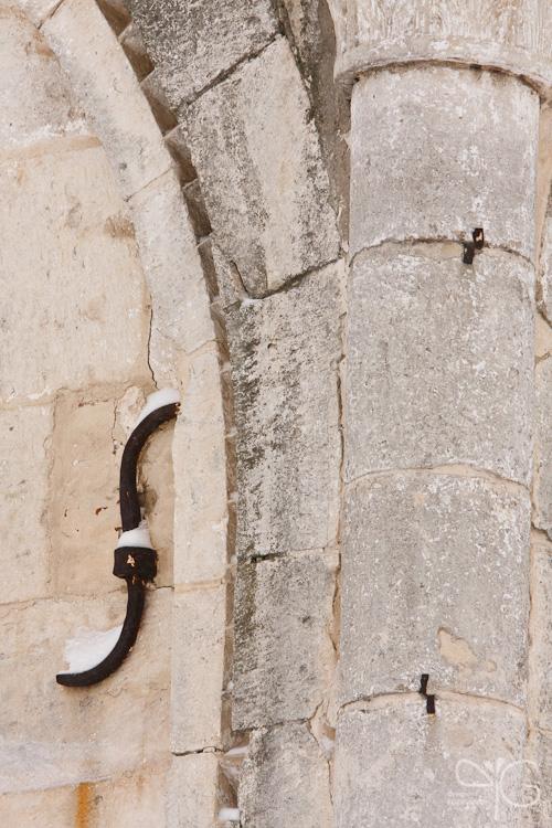 Старинные княжеские палаты, стена